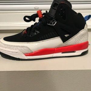 pretty nice a3af7 ed4db Jordan Shoes - jordan spizike -black new blue white infrared sz 6
